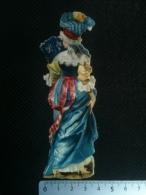 Découpi Chromo - Femme En Costume Ancien, Chocolat Louit - Autres