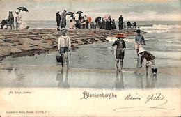 Blankenberghe Blankenberge - Au Brise-lames (animée, Colorisée, Römmler & Jonas, 1905) - Blankenberge