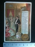 Chromo Liebig - Calendrier Decembre 1887, Le Capricorne, Astrologie - Liebig