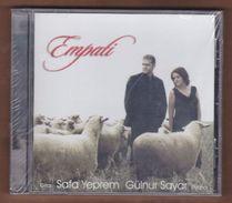 AC -  Safa Yeprem Gülnur Sayar Empati BRAND NEW TURKISH MUSIC CD - World Music