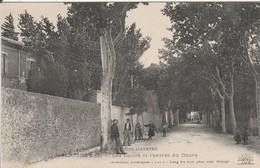 SERIGNAN  Les Ecoles Et L'entrée Du Cours - Autres Communes