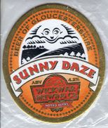 NEW UNUSED - WICKWAR BREWING CO (WICKWAR, ENGLAND) - SUNNY DAZE - PUMP CLIP FRONT - Signs