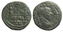[H] ++ AE20 -- SEVERUS ALEXANDER -- NICAEA / Bithynien Bithynia --- Standards ++ - Römische Münzen