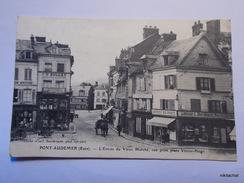 PONT AUDEMER-L'entrée Du Vieux Marché-Vue Prise Place Victor Hugo - Pont Audemer