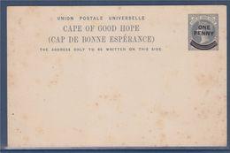 """= Carte Postale """"Cape Of Good Hope"""" Cap De Bonne Espérance Entier Surchargé One Penny - Afrique Du Sud (1961-...)"""