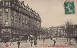 PARIS 11eme - Rue Régnault Et L'Entrée Du Square Parmentier - Distretto: 11