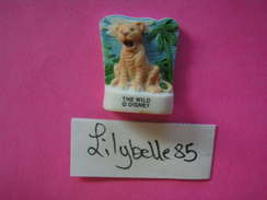 Feve DISNEY En Porcelaine - JEUNE LION -  Serie THE WILD 2007 ( Feves ) Rare - Disney