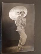 Ballet  - Dancer - Artist Galina Ulanova RED POPPY  - Old Soviet Postcard 1955  - Rare! Japan - Danse
