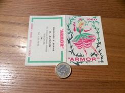 Calendrier 1960 *** « ARMOR / MACHINE À ÉCRIRE H. AUDOUIN TOULOUSE (31) » - Kleinformat : 1941-60