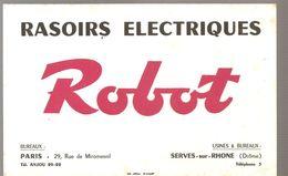 Buvard Robot Rasoirs Electriques Usines Et Bureaux à SERVES Sur RHONE (Drôme) - Perfume & Beauty