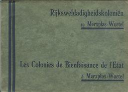 Boekje (15 X 21cm) Merxplas Wortel Rijksweldadigheidskoloniën Kolonie Merksplas Colonie (38 Zichten !!) 1x Steenbakkerij - Merksplas
