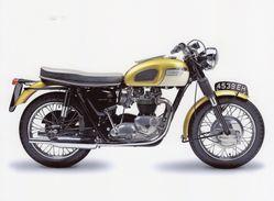 Triumph Bonneville  -  Moto-Motorcycle  -  Plaque Métal 20 X 15 Cms  -  Neuf! - Advertising (Porcelain) Signs