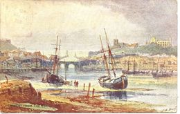 ARTIST - WHITBY FROM THE ESK By F W BOOT Art365 - Whitby
