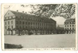 """19282   Cpa  BRIVE LA GAILLARDE  ; Caserne """" Brune """" 126 ème R. I. , Le Bâtiment Du 1er Bataillon  1939 - Brive La Gaillarde"""