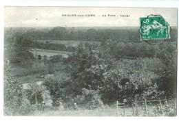 19291   Cpa  SELLES SUR CHER  : Le  Pobnt Canal ! 1909  !   ACHAT DIRECT ! - Selles Sur Cher