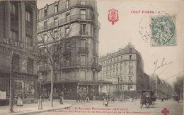 PARIS 11eme - Avenue Parmentier, Au Carrefour De L'Avenue De La République Et De La Rue Oberkampf - Distretto: 11