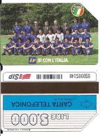 SCHEDA TELEFONICA USATA Italia '90-IP Con L'Italia 64 - AV3 1 - Italia