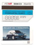 SCHEDA TELEFONICA USATA Peugeot 306 248  - AV3 1 - Italia
