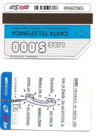 SCHEDA TELEFONICA USATA Iritel Teleselezione Verticale 276  - AV3 1 - Italia
