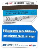 SCHEDA TELEFONICA USATA Iritel Teleselezione Verticale 279  - AV3 1 - Pubbliche Figurate Ordinarie