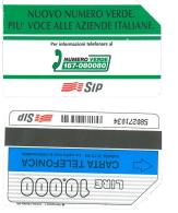 SCHEDA TELEFONICA USATA Nuovo Numero Verde,più Voce 342 - AV3 5 - Italia