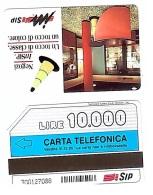 SCHEDA TELEFONICA USATA Negozi InSip 350 - AV3 6 - Italia