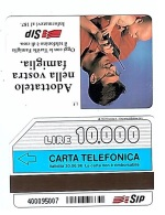 SCHEDA TELEFONICA USATA Telefonino SIP 369 - AV3 7 - Italia