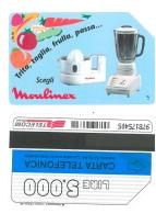 SCHEDA TELEFONICA USATA Scegli Mulinex 386 - AV3 9 - Italia