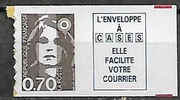 France 1994 Type Marianne Du Bicentenaire 70 C. Brun + Vignette Cases épais Neuf - Nuovi