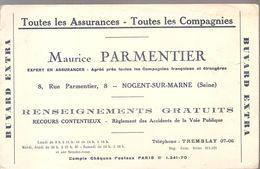 Buvard Maurice Parmentier Toutes Assurances Toutes Compagnies 8, Rue Parmentier à Nogent Sur Marne - Bank & Insurance