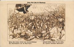 Illustrateur F Kaskeline La Bataille De Maubeuge La Marche Des Allemands - War 1914-18