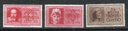 Italia. 1933; 1945. Sello Expreso Y Preneumáticos. - 1900-44 Victor Emmanuel III