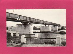 78 Yvelines, Conflans-Sainte-Honorine, Le Pont Du Chemin De Fer, (Abeille, Lyna) - Conflans Saint Honorine