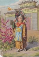 Chromos - Chromo Exposition Universelle Paris 1878 - Pavillon Chinois China - Ombrelle - Unclassified