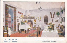 LA BARRACA, COMEDOR TIPICO ESPAÑOL. MADRID, ESPAÑA/SPAIN/L'ESPAGNE CIRCA 1950's TBE - BLEUP - Hotel's & Restaurants