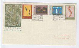 1993 Piabla AUSTRALIA FDC ABORIGINAL ART  Stamps SPECIAL Pmk  Cover - FDC