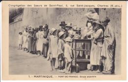 CONGREGATION DES SOEURS DE SAINT PAUL  SOUPE POPULAIRE     (EDIT  SOEURS DE ST PAUL ) - Fort De France