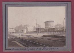 171117 - PHOTO ANCIENNE 1900 - 69 LYON - Ancienne Gare Des Brotteaux - Chemin De Fer - Lyon