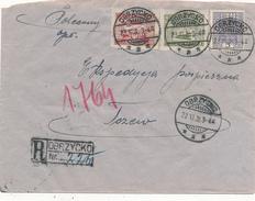 OBRZYCKO - 1935 , R-Brief Nach Tczew - 1919-1939 Republic
