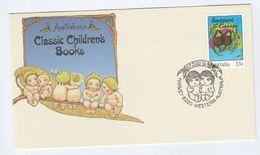 1985 Harvey AUSTRALIA FDC Stamps SNUGGLESPOT Children Story SPECIAL Pmk Cover Literature - FDC
