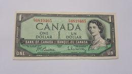 CANADA 1 DOLLARO 1954 - Canada