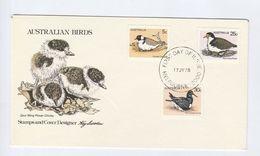 1978  AUSTRALIA FDC Stamps BIRDS  Cover Bird - FDC