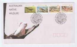 1993 KANGAROO VALLEY Special  FDC Stamps KANGAROO, PLATYPUS COCKATOO KOOKABURRA Australia Cover - FDC