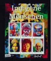 """ONU VIENNA 2009:  Foglietto BF35 MNH/** """"Popoli Indigeni. 1^ Serie"""". - Blocchi & Foglietti"""