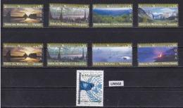 ONU VIENNA 2003:  Lotto Di 9 Valori (2 Serie) MNH/**. - Wien - Internationales Zentrum