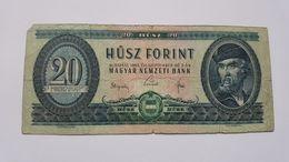 UNGHERIA 20 FORINT 1965 - Ungheria