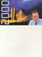"""Calendrier De L'an 2000 """"Toulouse Porte Du Ciel""""  Dominique Baudis - Calendars"""