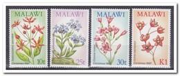 Malawi 1987, Postfris MNH, Flowers - Malawi (1964-...)