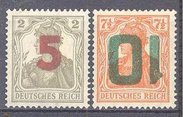 Pologne: Yvert N°61/62*; Vendu Comme Faux - 1919-1939 Republic