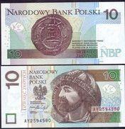 Poland 10 Zlotych 2016 UNC P- 183b - Pologne